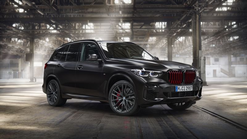 BMW X6 M50i Edition Black Vermilion, Limited edition, Black cars, 5K, 8K, 2021, Wallpaper
