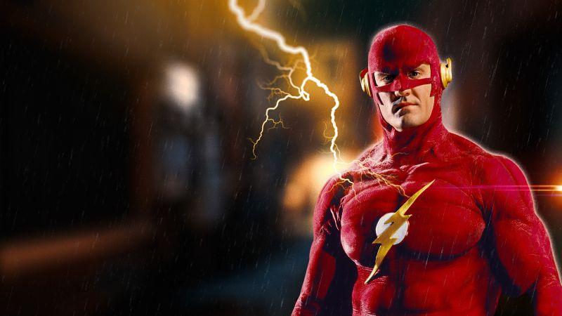 The Flash, DC Superheroes, DC Comics, Wallpaper