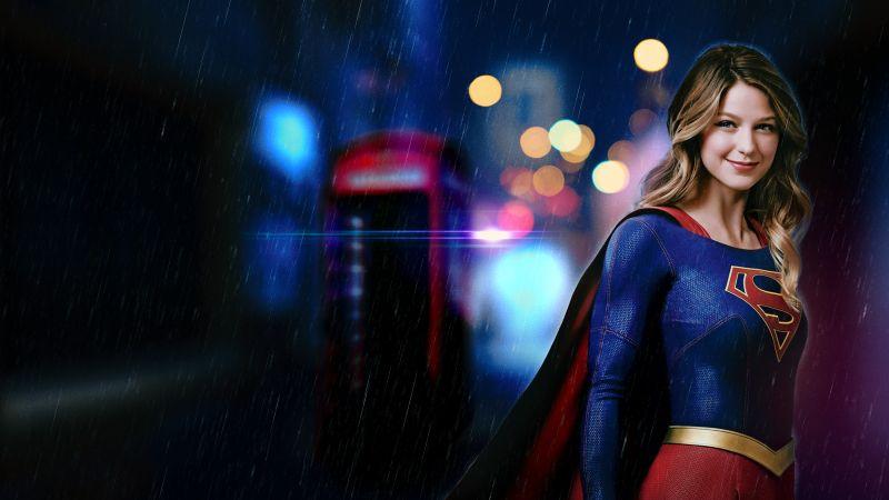 Supergirl, Melissa Benoist, DC Comics, TV series, DC Superheroes, Wallpaper