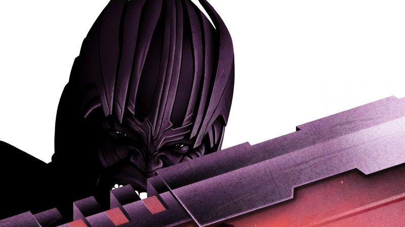 Thanos, Avengers: Endgame, Artwork, 5K, Wallpaper