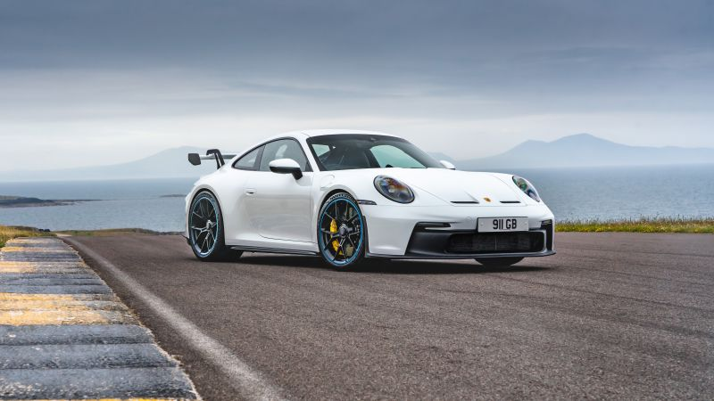 Porsche 911 GT3 PDK, Sports cars, 2021, 5K, Wallpaper