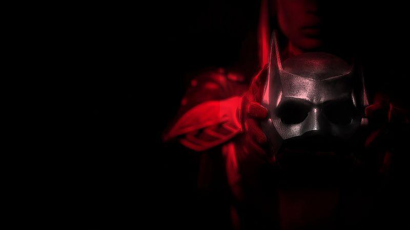 Batwoman, DC Comics, DC Superheroes, Dark background, AMOLED, TV series, Wallpaper