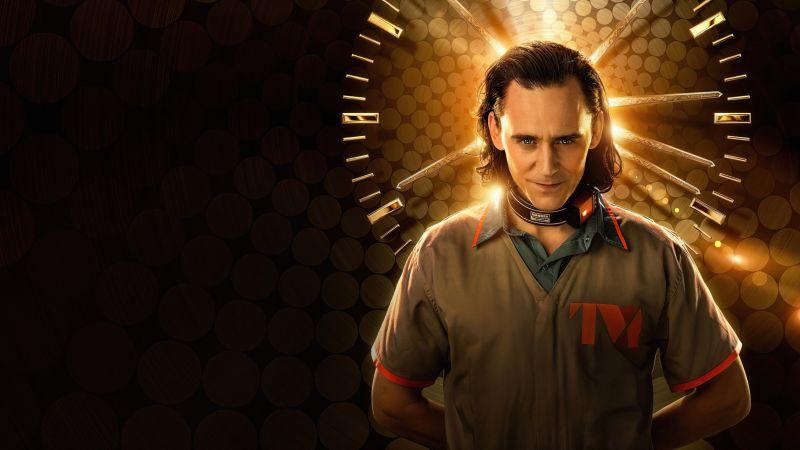 Loki, TV series, Tom Hiddleston, Marvel Comics, 2021, Wallpaper