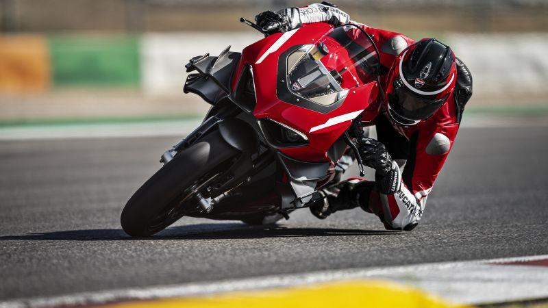 Ducati Superleggera V4, Diablo Supercorsa SP, Sports bikes, Black background, 2021, Race track, Racing bikes, Wallpaper