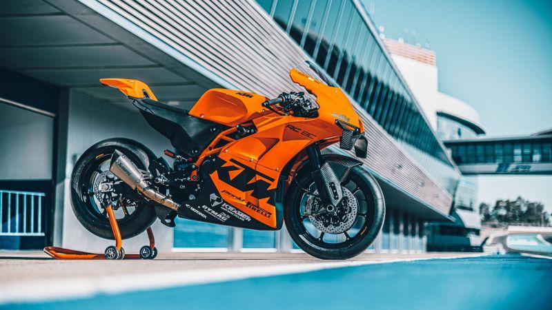 KTM RC 8C, Sports bikes, 2022, 5K, 8K, Wallpaper