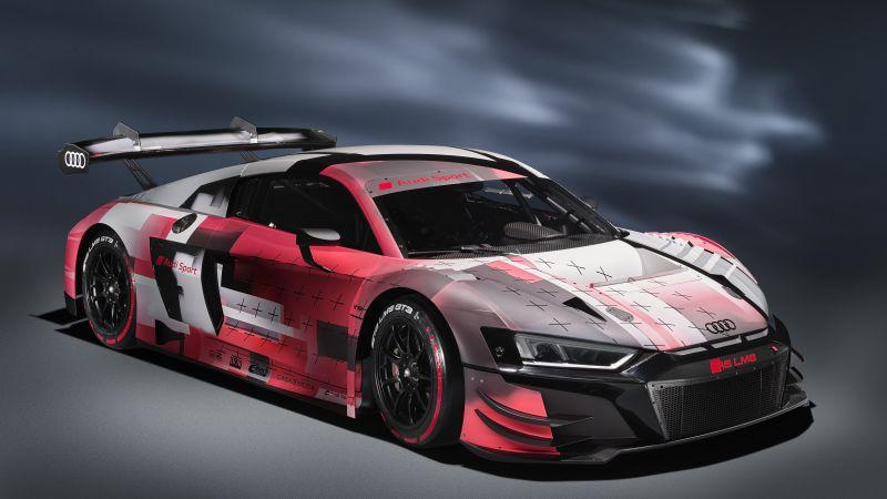 Audi R8 LMS GT3 evo II, Race cars, 2022, 5K, Wallpaper