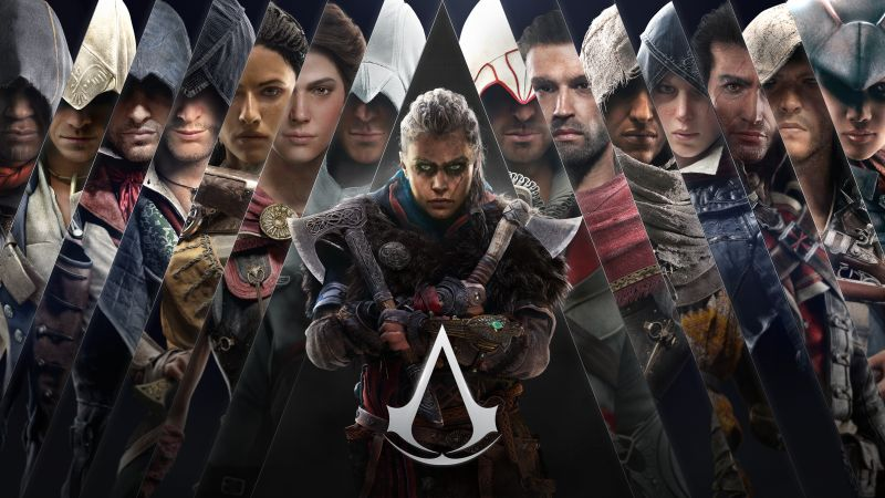 Assassin's Creed Valhalla, Female Eivor, PC Games, PlayStation 4, PlayStation 5, Xbox One, Xbox Series X and Series S, Google Stadia, Amazon Luna, 5K, 8K, Wallpaper