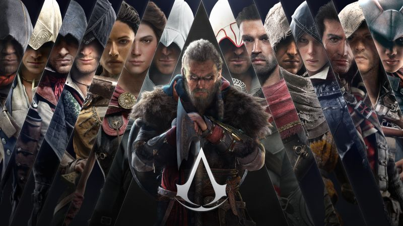 Assassin's Creed Valhalla, Eivor, PC Games, PlayStation 4, PlayStation 5, Xbox One, Xbox Series X and Series S, Google Stadia, Amazon Luna, 5K, 8K, Wallpaper