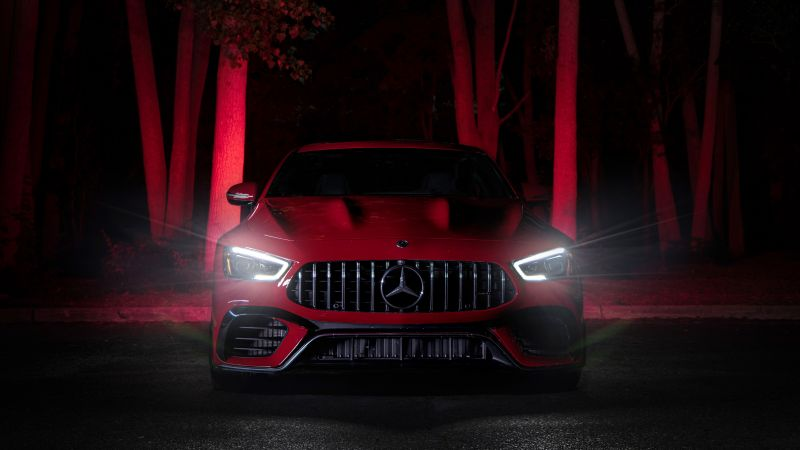 Mercedes-AMG GT, Coupe, 5K, Wallpaper