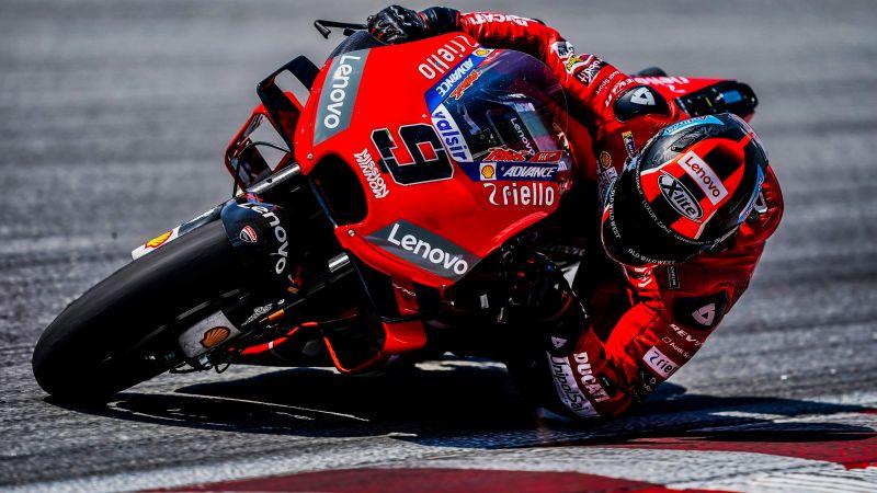 Ducati, MotoGP, Danilo Petrucci, Racing bikes, Wallpaper