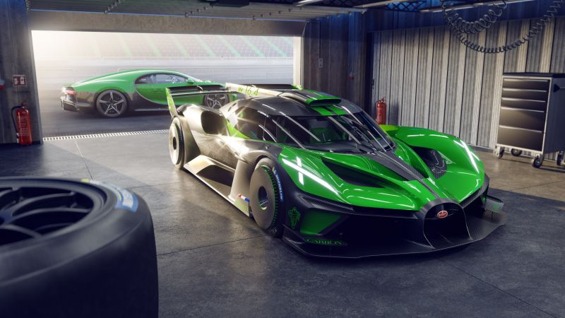 Bugatti Bolide, Hyper Sports Cars, 2021, Wallpaper