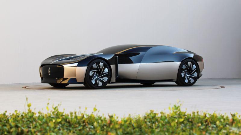 Lincoln Anniversary Concept, Concept cars, 2021, 5K, Wallpaper
