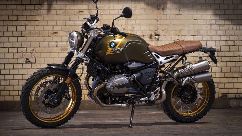 BMW Motorrad R nineT Scrambler, 2021, 5K, Wallpaper