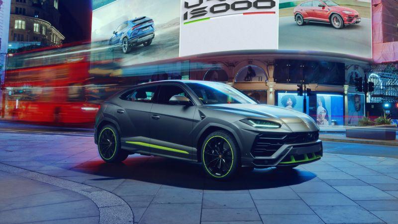Lamborghini Urus Graphite Capsule, 2021, Wallpaper