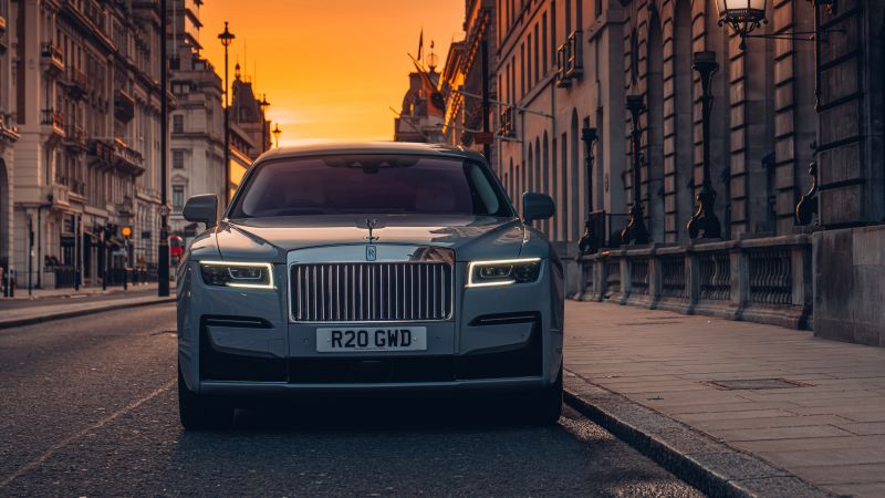 Rolls-Royce Ghost, 2021, 5K, 8K, Wallpaper