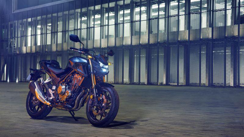 Honda CBR500F, 2022, Sports bikes, 5K, Wallpaper