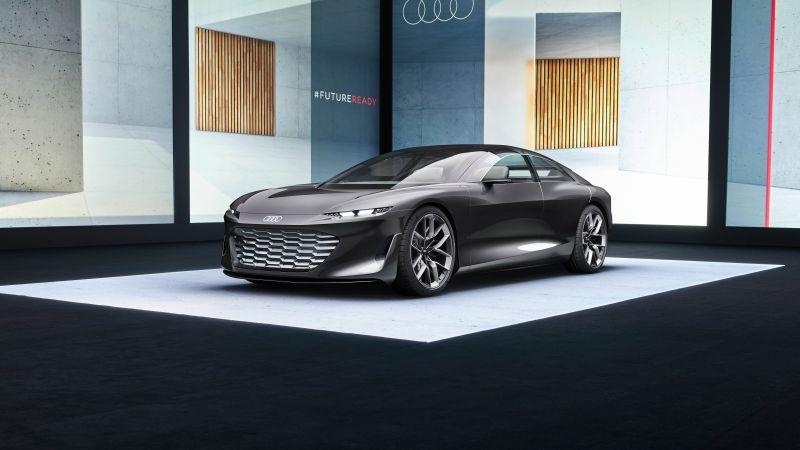 Audi grandsphere concept, Electric cars, Concept cars, 2021, 5K, 8K, Wallpaper
