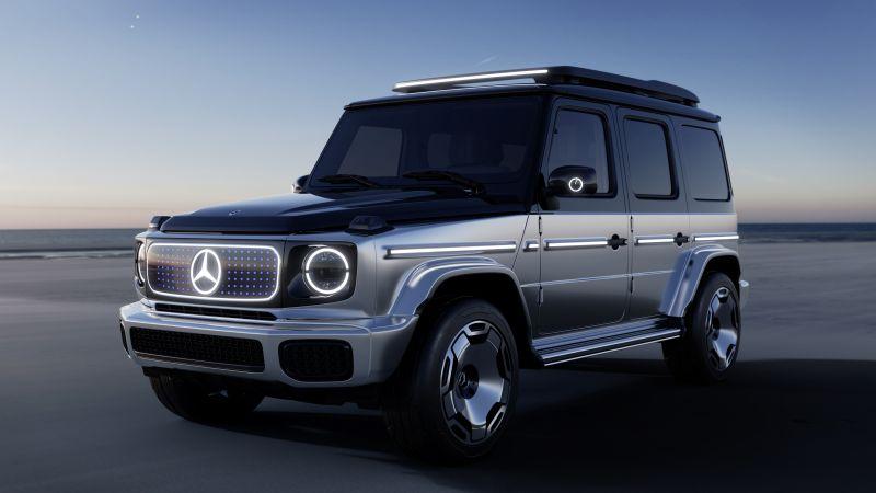 Mercedes-Benz Concept EQG, Concept cars, Electric SUV, 2021, Wallpaper