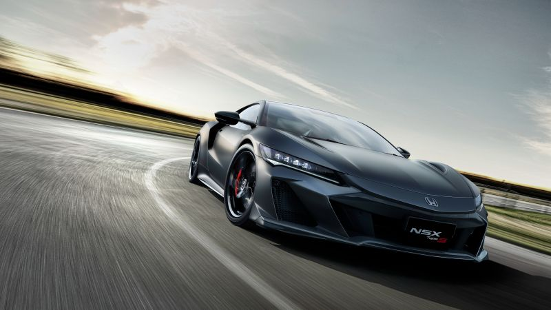 Honda NSX Type S, Hybrid Supercar, Sports cars, Race track, Racing cars, 2022, Wallpaper