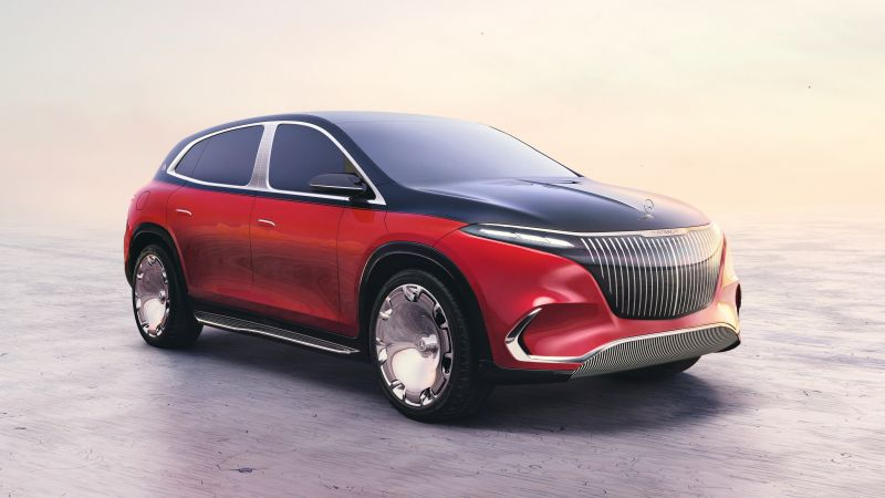 Concept Mercedes-Maybach EQS, Electric cars, Concept cars, 2021, Wallpaper
