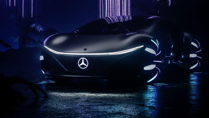 Mercedes-Benz VISION AVTR, Concept cars, 2020, Wallpaper