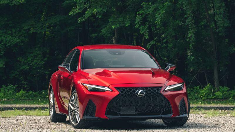 Lexus IS 500 F SPORT Performance, 2022, 5K, Wallpaper