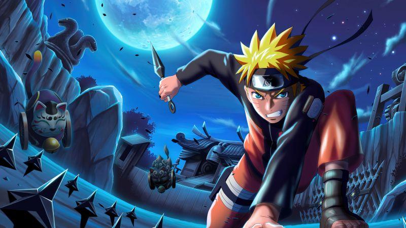 Naruto Uzumaki, Action, Power, Wallpaper