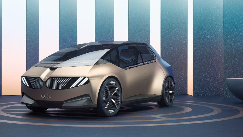 BMW i Vision Circular, Concept cars, Electric cars, 2021, 5K, Wallpaper