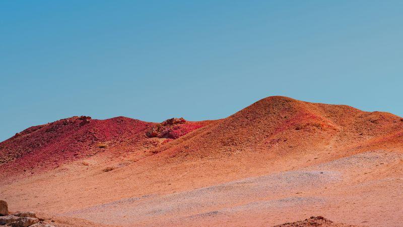 Mi Pad 5 Pro, Clear sky, Desert, Sunny day, Noon, Stock, Wallpaper