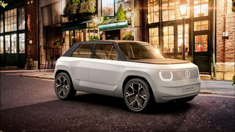 Volkswagen I.D. LIFE, Electric cars, 2021, Wallpaper