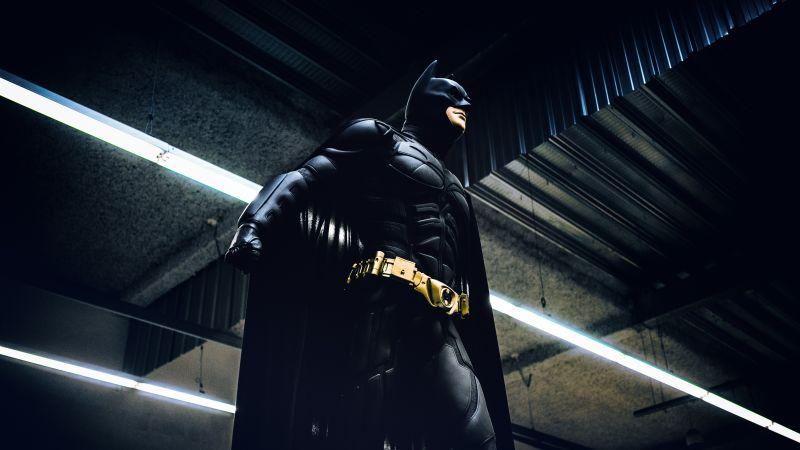 Batman, Cosplay, DC Comics, DC Superheroes, Dark Knight, Subway, 5K
