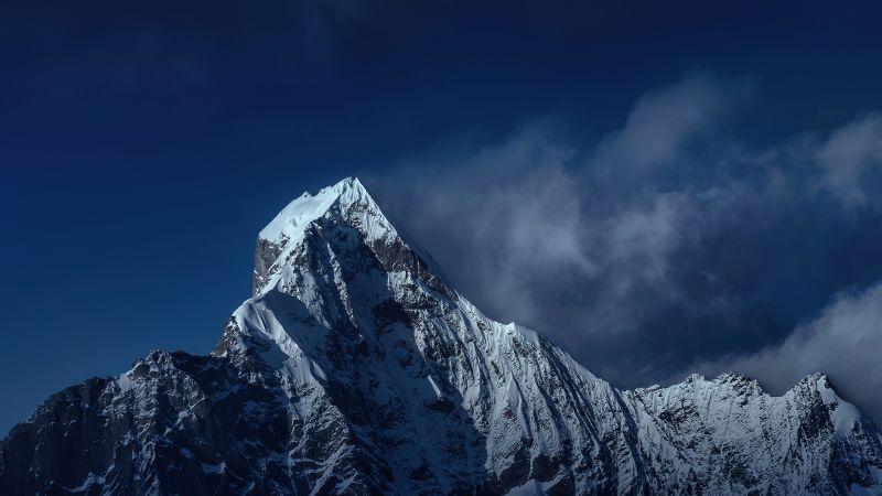 Mount Siguniang, Mi Pad 5 Pro, Qionglai Mountains, Night, Cold, Peak, Stock, Wallpaper