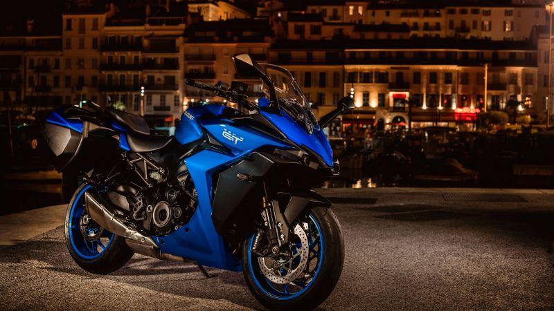 Suzuki GSX-S1000GT, Sports bikes, 2022, 5K, 8K, Wallpaper