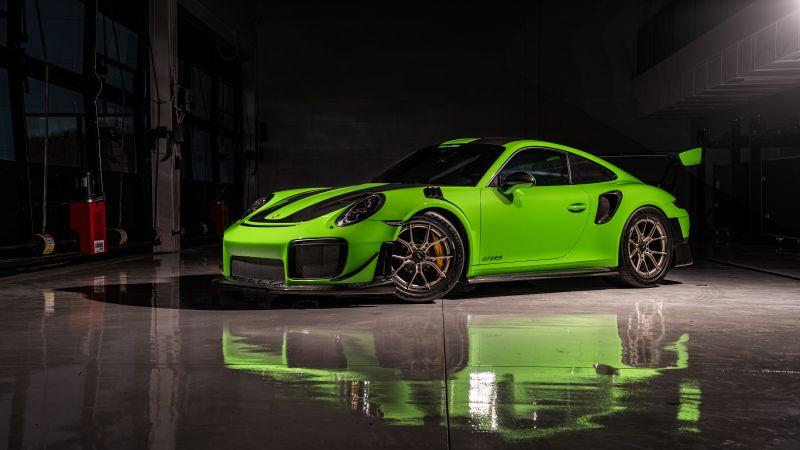 Porsche 911 GT2 RS, Sports cars, 5K, 8K, Wallpaper