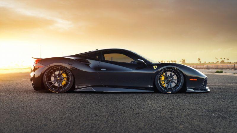Ferrari 488 GTB, Sports cars, 5K, 8K