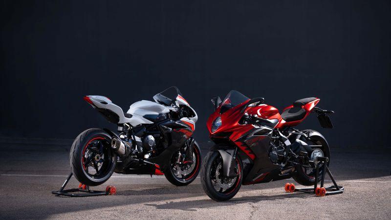 MV Agusta F3 RR, Sports bikes, Dark background, 2022, 5K, 8K, Wallpaper