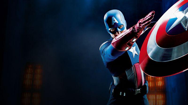 Captain America, Marvel Superheroes, Wallpaper