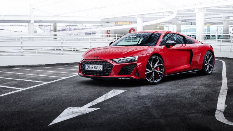 Audi R8 V10 performance RWD, 2021, 5K