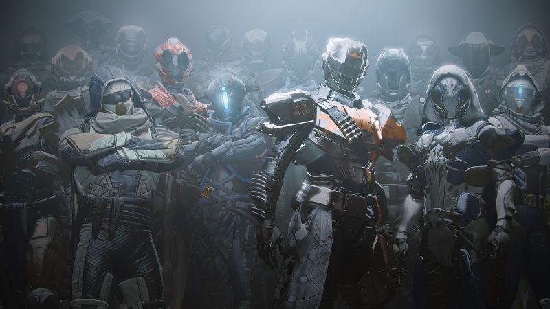 Destiny 2, Titans, PlayStation 4, Xbox One, Wallpaper