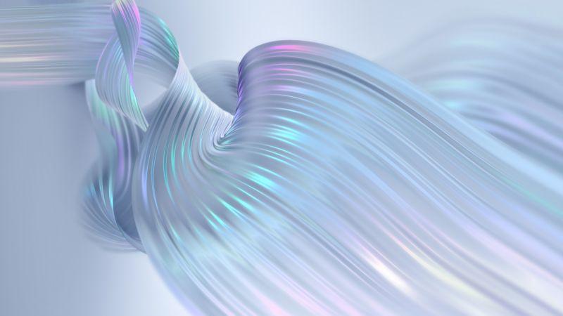 White, Angel wings, Colorful, Shining, Huawei MediaPad, Stock, Wallpaper
