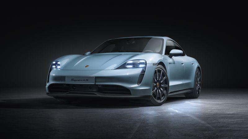 Porsche Taycan 4S, 5K