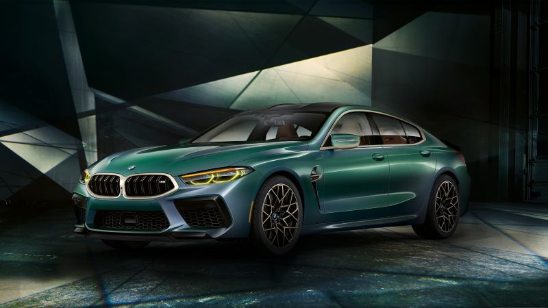 BMW M8 Gran Coupe, First Edition, 2020, 5K