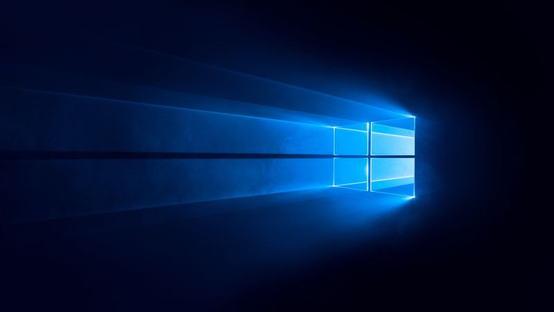 Windows 10 4k Wallpaper Dark Blue 5k 8k Technology 733