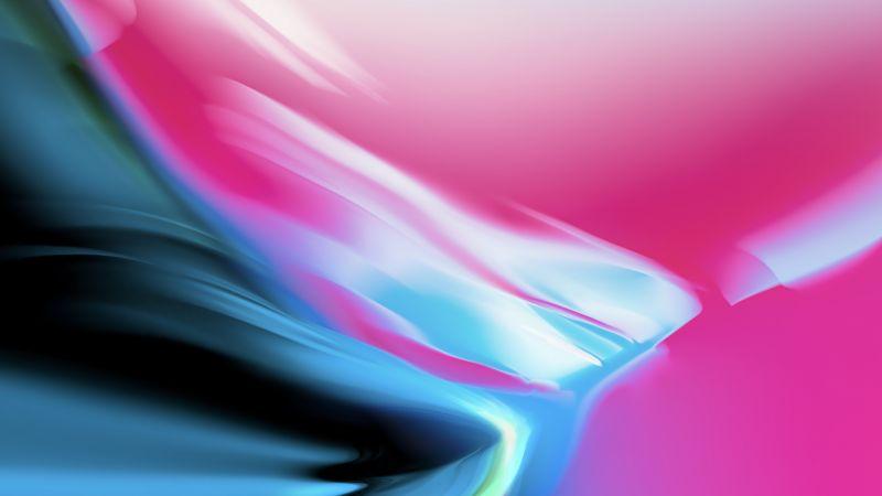 iOS 11, Aura Silver Granite, Apple, iPad Pro, Stock, Wallpaper
