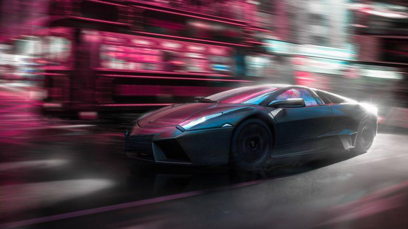 Lamborghini Reventon, Supercars, Wallpaper