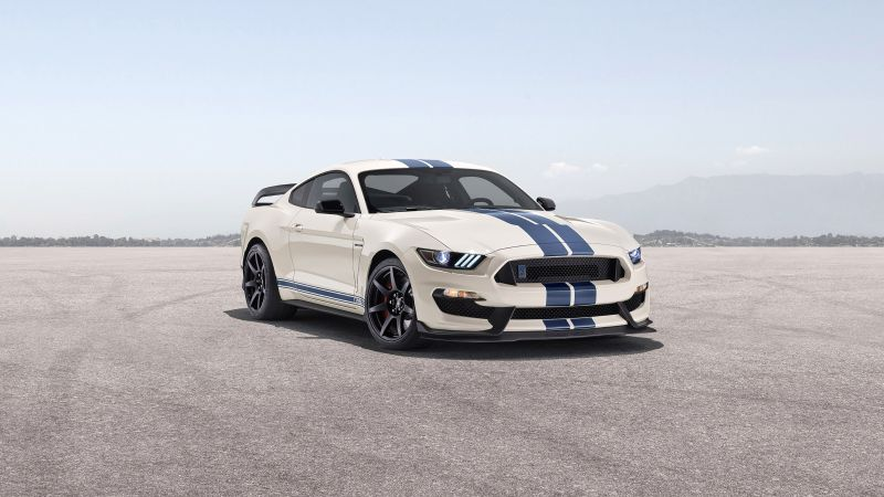 Ford Mustang Shelby GT350, Heritage Edition, 2020, 5K, Wallpaper