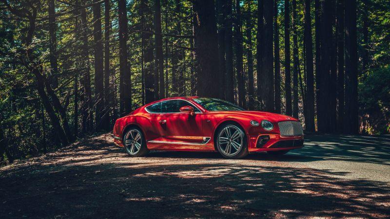 Bentley Continental GT, 2020, 5K, Wallpaper