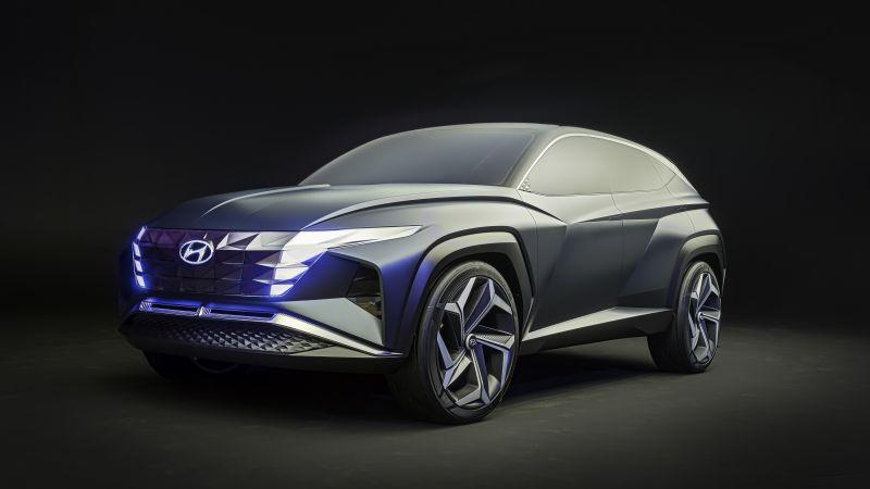 Hyundai Vision T Concept, Plug-in Hybrid SUV, Hybrid electric cars, Concept cars, Wallpaper