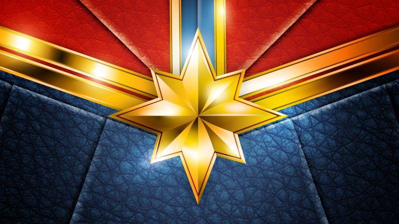 Captain Marvel, Suit, Marvel Superheroes, HD, Wallpaper