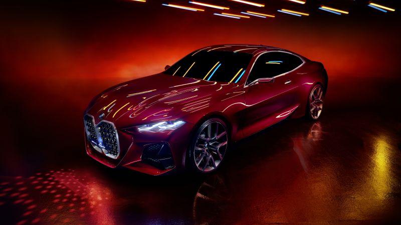 BMW Concept 4, Prototype, Concept cars, 5K, Wallpaper